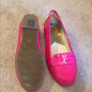 a3837916987 Michael Kors Shoes - Michael Kors Hot Pink Penny Loafers
